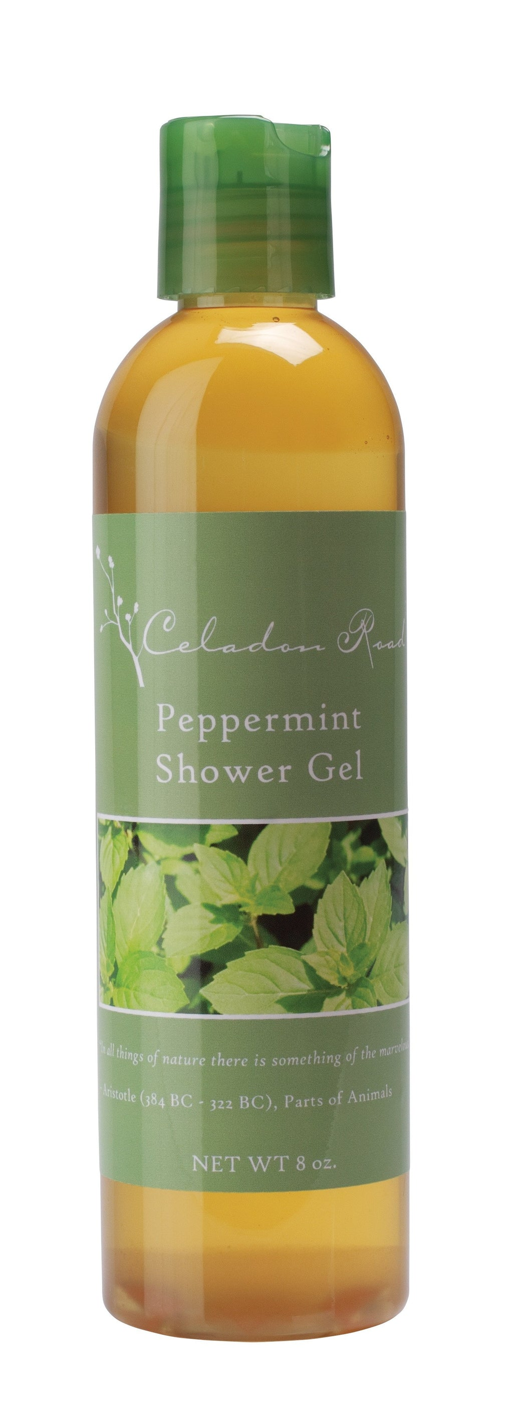 Peppermint Shower Gel- Celadon Road- www.celadonroad.com