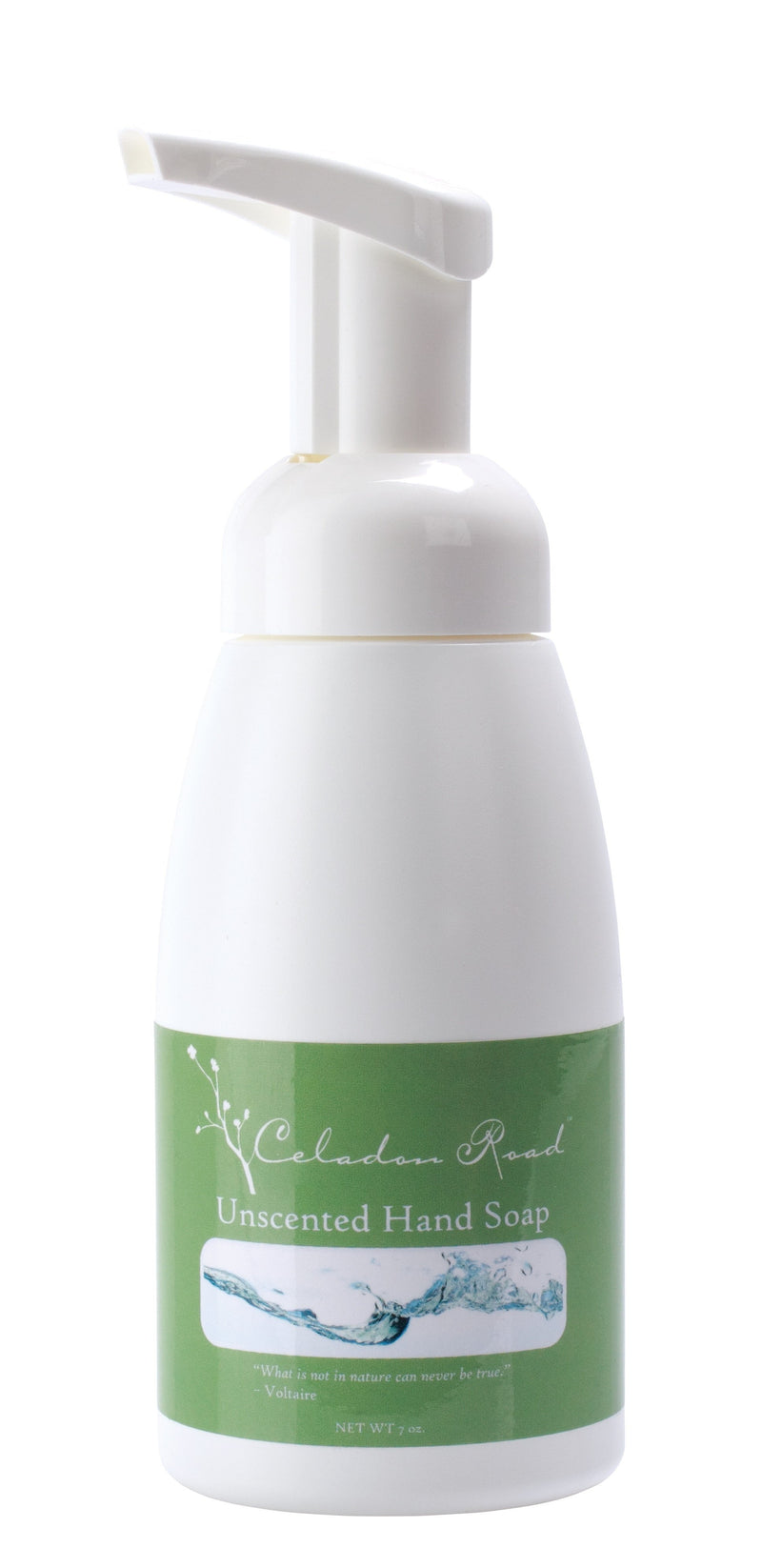 Unscented Foaming Hand Soap- Celadon Road- www.celadonroad.com