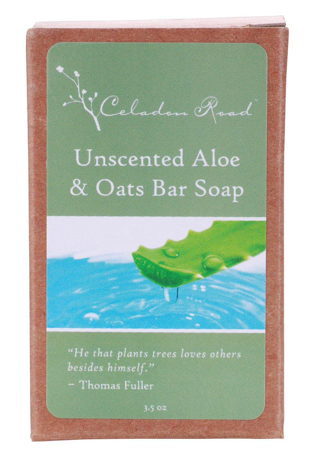 Unscented Aloe & Oats Bar Soap- Celadon Road- www.celadonroad.com