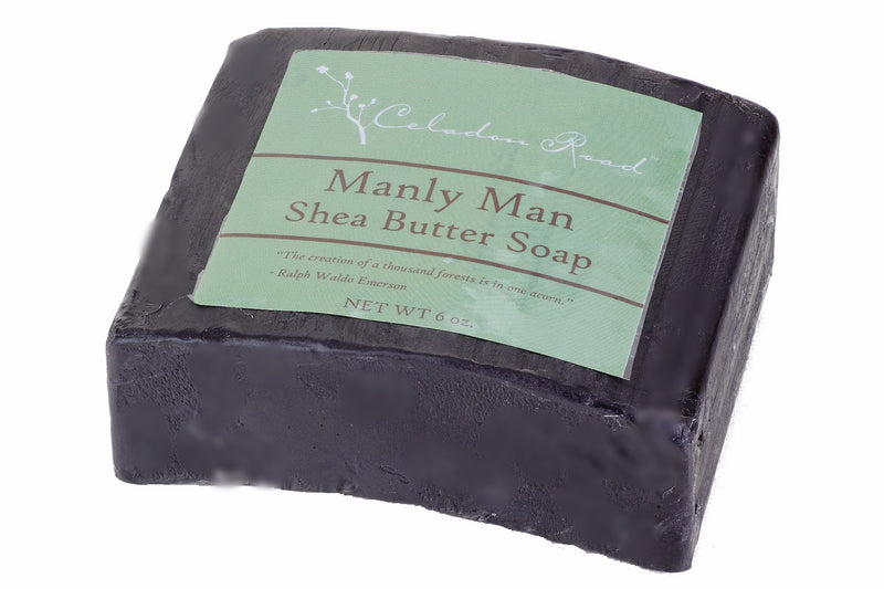 Manly Man Bar Soap- Celadon Road- www.celadonroad.com