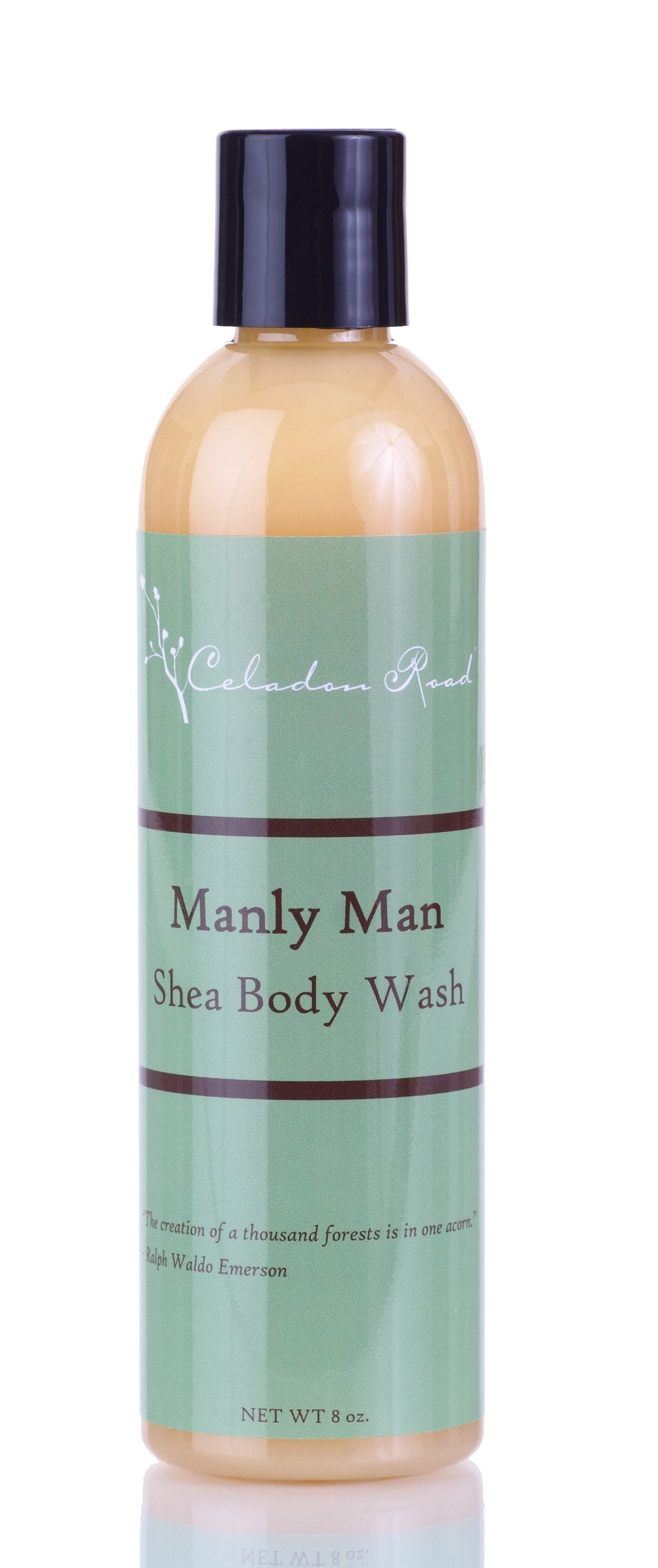 Manly Man Shea Body Wash- Celadon Road- www.celadonroad.com