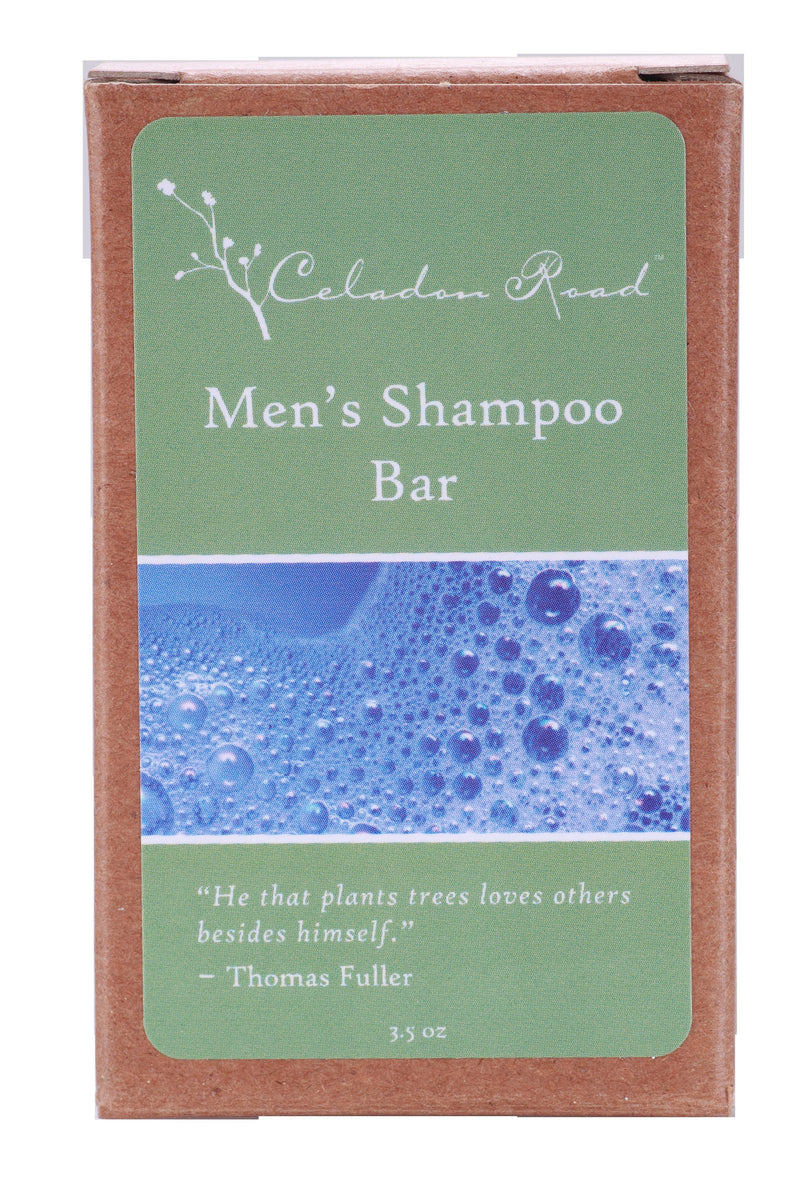 Men's Shampoo Bar Soap- Celadon Road- www.celadonroad.com