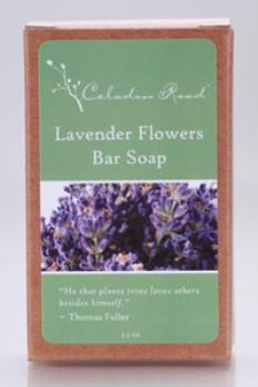 Lavender Flowers Bar Soap