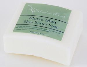 Metro Man Bar Soap- Celadon Road- www.celadonroad.com