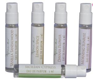 Purse Size Perfume - Set of our 5 Signature Scents- Celadon Road- www.celadonroad.com