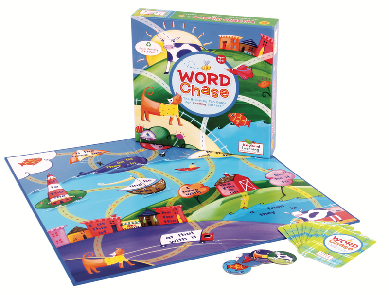 Word Chase Sight Word Game- Celadon Road- www.celadonroad.com