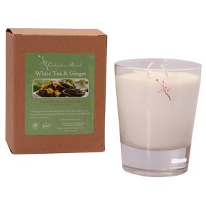 White Tea and Ginger Candle- Celadon Road- www.celadonroad.com