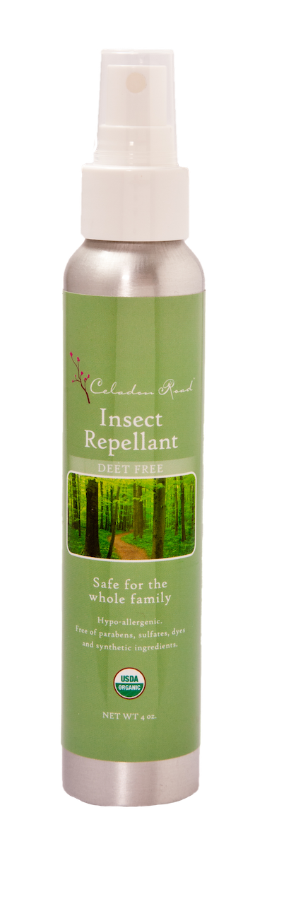 Certified Organic Insect Repellant- Celadon Road- www.celadonroad.com