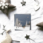 2020 Assorted 'Britain in the snow' Christmas cards