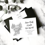 Custom change of address cards | ink & white