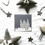 London 'Britain in the snow' Christmas cards | ink & white