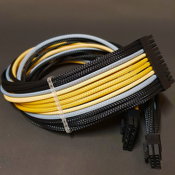 24 Pin Custom Sleeved PSU Cable