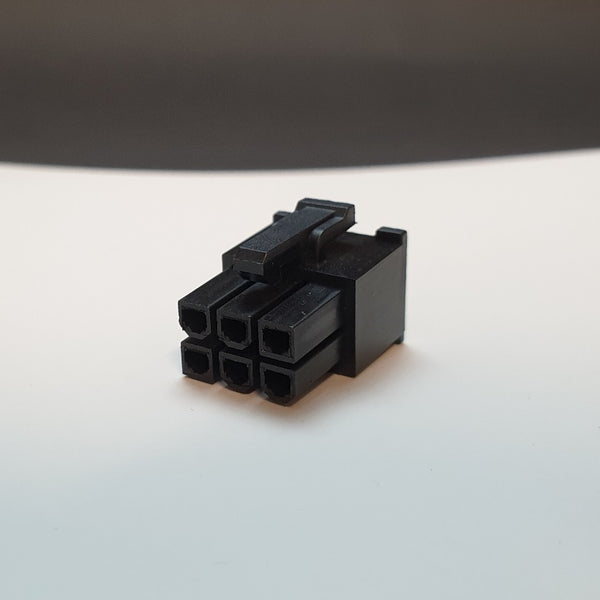 6 Pin Male GPU/PCIe Connector (Female Terminal)