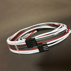 8 Pin CPU Custom Sleeved PSU Cable