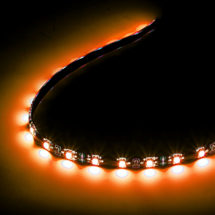 Lamptron FlexLight Pro 20cm - 12 LEDs - Orange