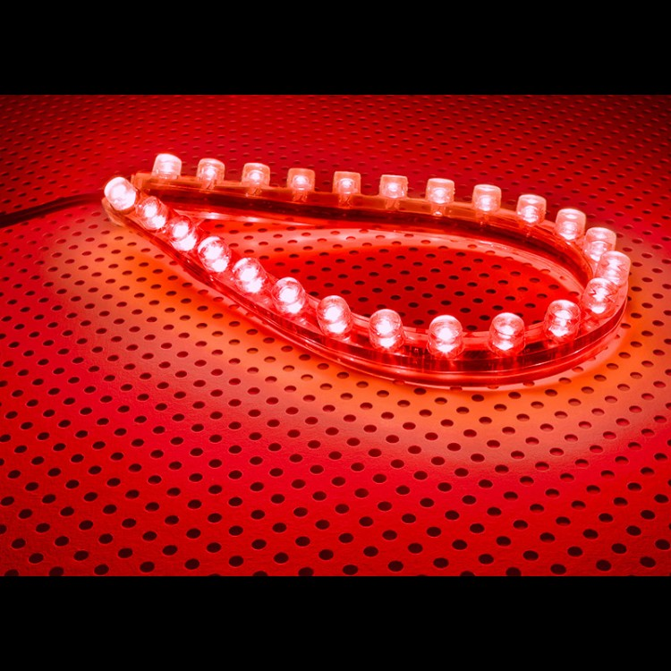 Lamptron FlexLight Standard - 24 LEDs - Fire Red
