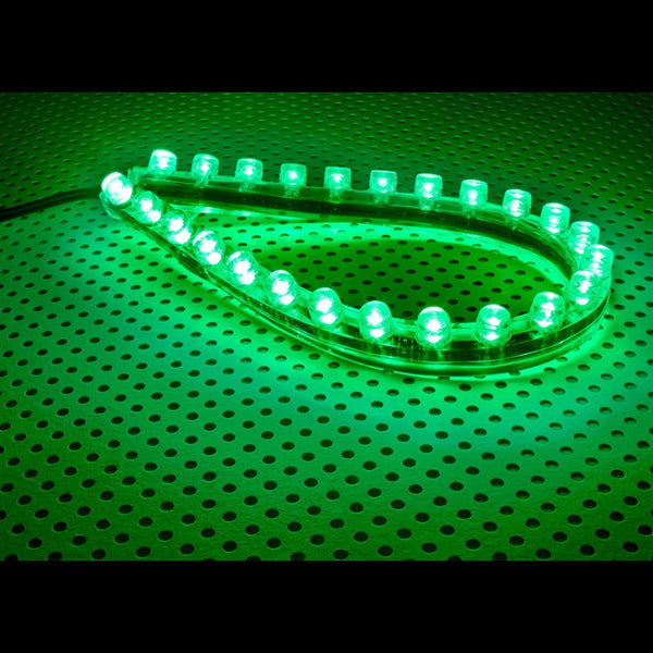 Lamptron FlexLight Standard - 24 LEDs - Venom Green