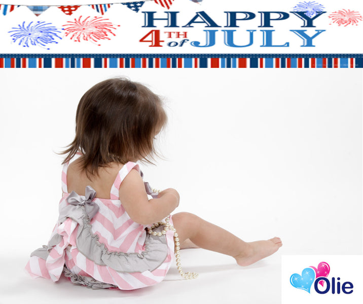 Happy 4th of July from Olie....