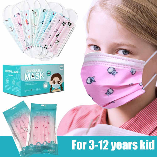 Kids Mask Disposible Face Mask