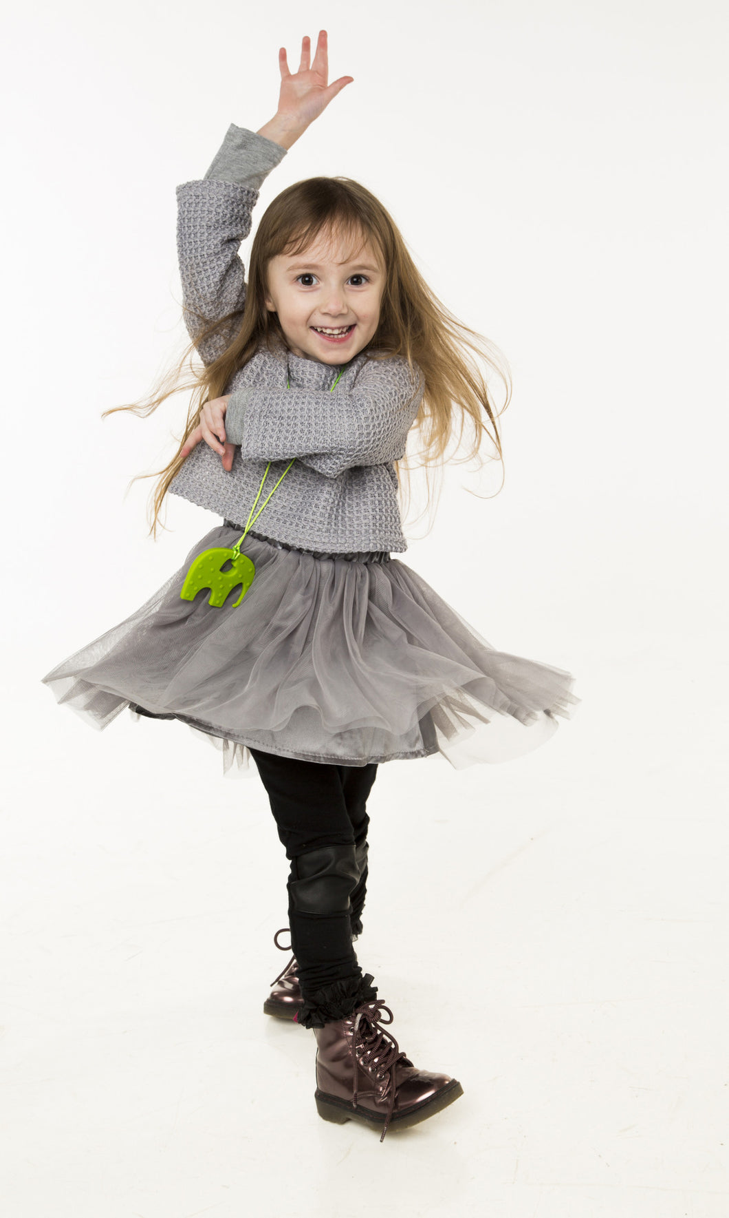 Olie Gray Tutu Dress