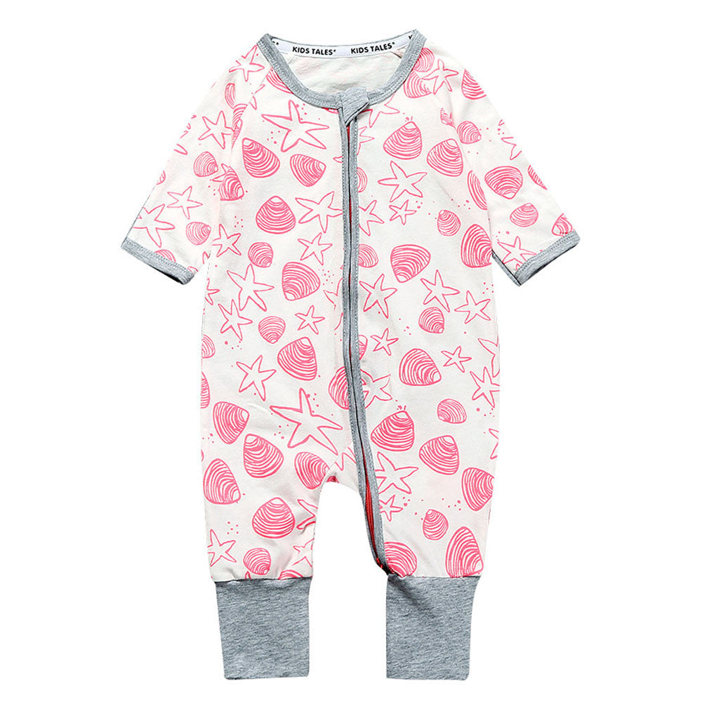 Baby clothes Infant Baby Girls Boys Long Sleeve Zipper Romper Jumpsuit Outfits Clothes drop shipping