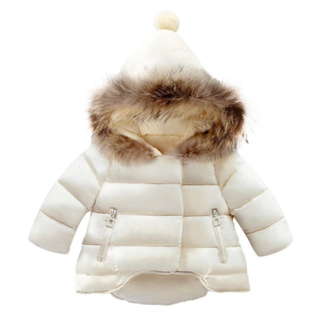 Fur Hooded Down Parka