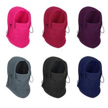 Winter warm fleece hat/balaclava