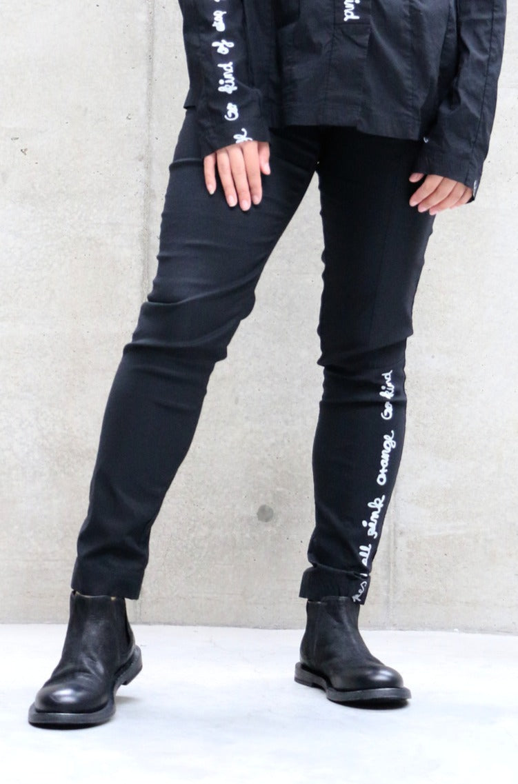 Rundholz Black Label Calligraphy Skinny Pants | ATELIER957