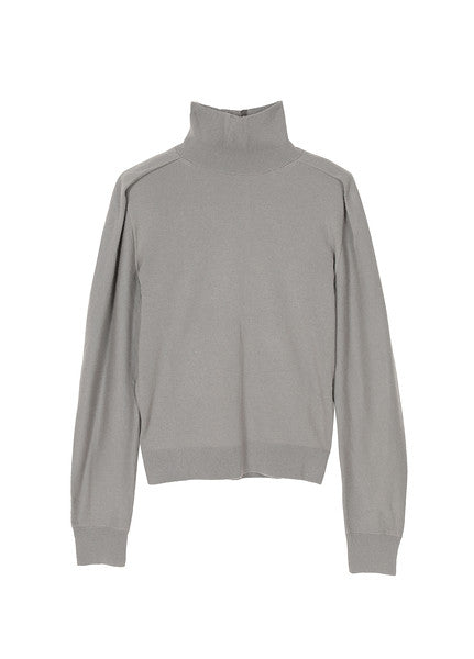 JNBY Grey High Neck Sweater