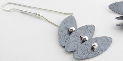 Laurette O'Neil Tiered Disk Earrings | ATELIER957