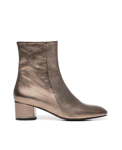 Coclico Eli Ankle Blush Bootie - 36 - Pale Blush | ATELIER957 | shop sale items from hand-picked, statement clothing, shoe, and accessory collections up to 70 percent off