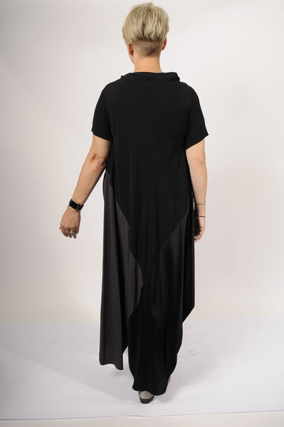 XD Xenia Design Black Viscose Deks Dress - - | ATELIER957 | shop sale items from hand-picked, statement clothing, shoe, and accessory collections up to 70 percent off