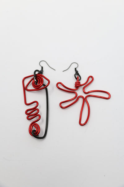 Irina Rapaport Hand-Crafted Doodle Face Earrings | ATELIER957