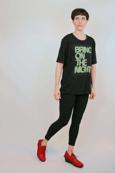 NY 77 Design Bring On The Night T-Shirt | ATELIER957