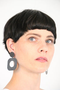 Laurette O'Neil Square Hoop Earrings | ATELIER957