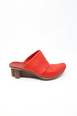 Trippen Enjoy Red Slip On Shoes | ATELIER957