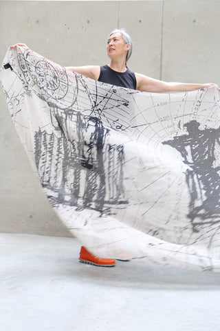 Rundholz Cartographer Scarf | ATELIER957