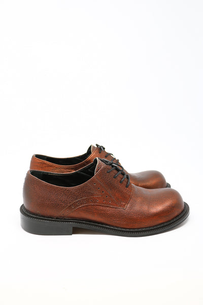 Maks Design Bronze Oxford Shoes | ATELIER957