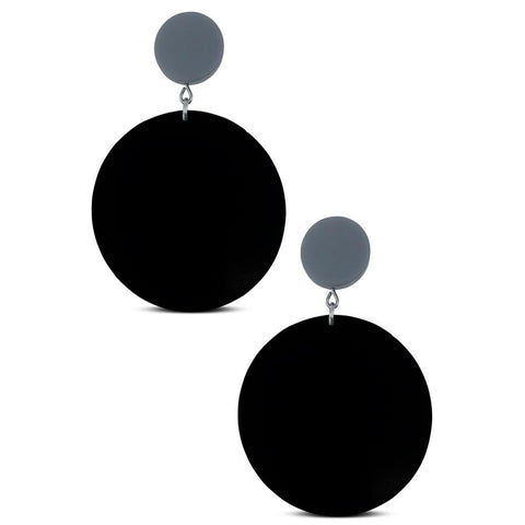 Frank Ideas Rubber Disk Earrings | ATELIER957