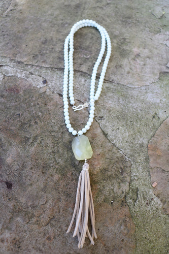 Simple Tassle Necklace