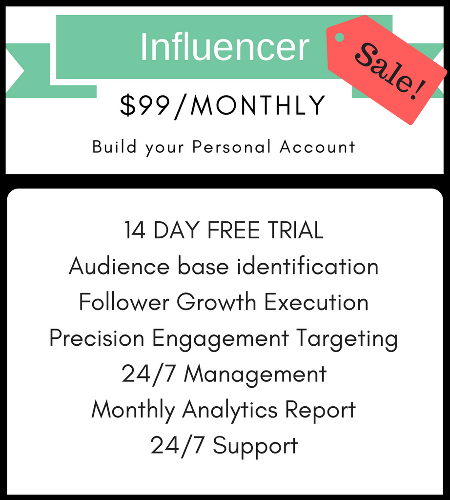 Influencer Plan (Special Offer)