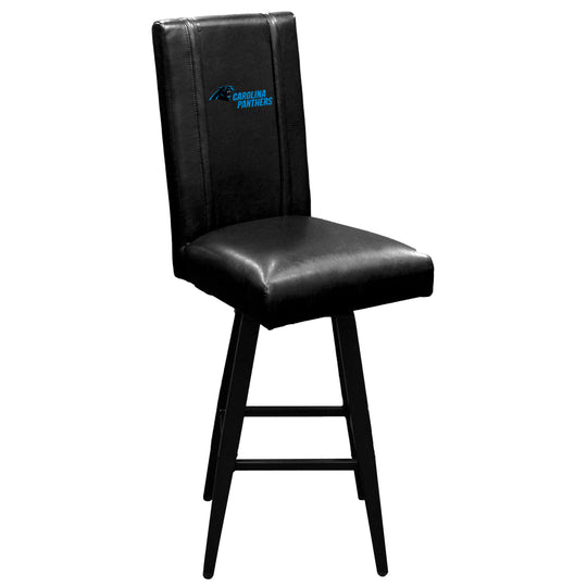 Swivel Bar Stool 2000 with  Carolina Panthers Secondary Logo