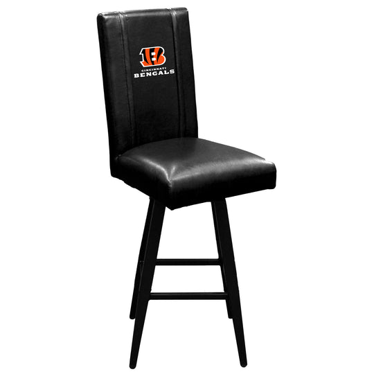 Swivel Bar Stool 2000 with  Cincinnati Bengals Secondary Logo