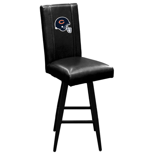 Swivel Bar Stool 2000 with  Chicago Bears Helmet Logo