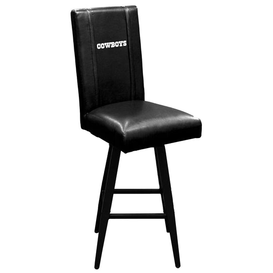 Swivel Bar Stool 2000 with  Dallas Cowboys Secondary Logo