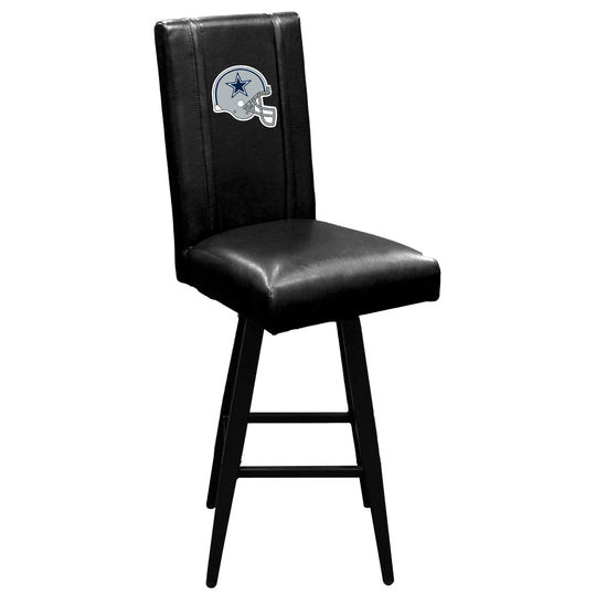 Swivel Bar Stool 2000 with  Dallas Cowboys Helmet Logo