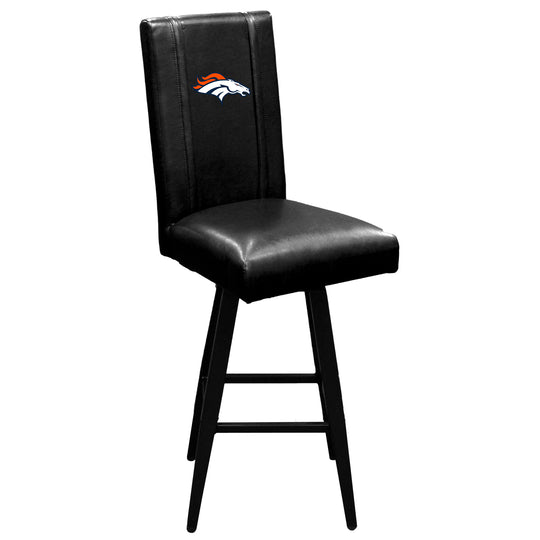 Swivel Bar Stool 2000 with  Denver Broncos Primary Logo