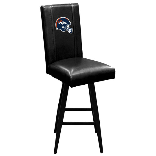 Swivel Bar Stool 2000 with  Denver Broncos Helmet Logo