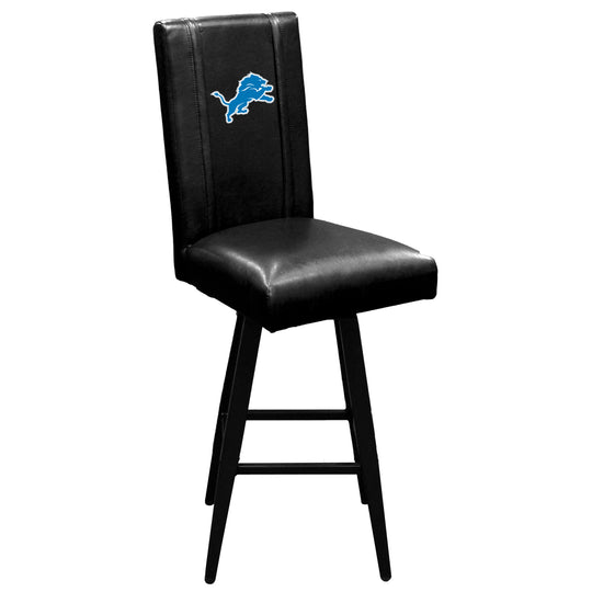 Swivel Bar Stool 2000 with  Detroit Lions Primary Logo