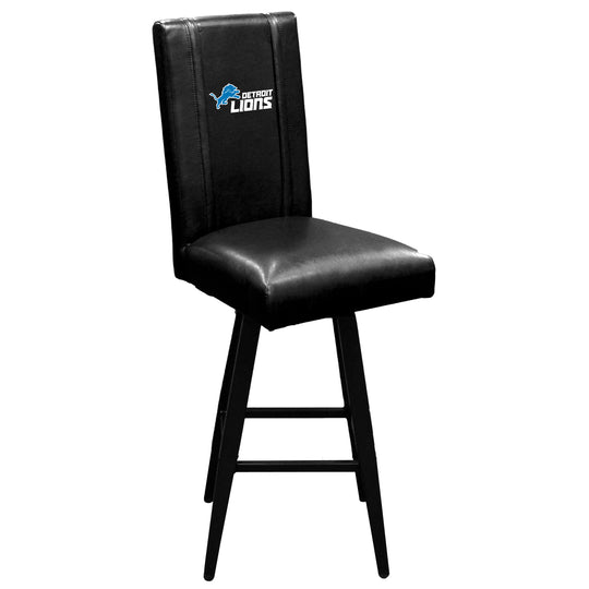Swivel Bar Stool 2000 with  Detroit Lions Secondary Logo